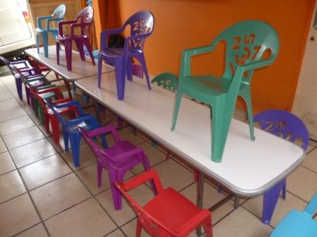 Sillas y mesas tel 0445529649053 renta de equipo para - Alquiler de mesas y sillas para eventos precios ...